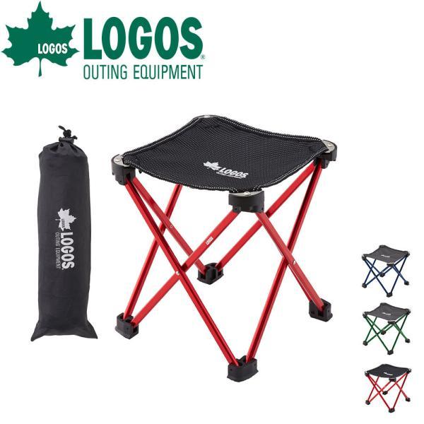 ロゴス LOGOS ステンパーツ 7075キュービックチェア-AF スツール 椅子 おしゃれ 折りたたみ椅子 チェア 折りたたみ チェアー コンパクト 軽量 軽い イス 収束式