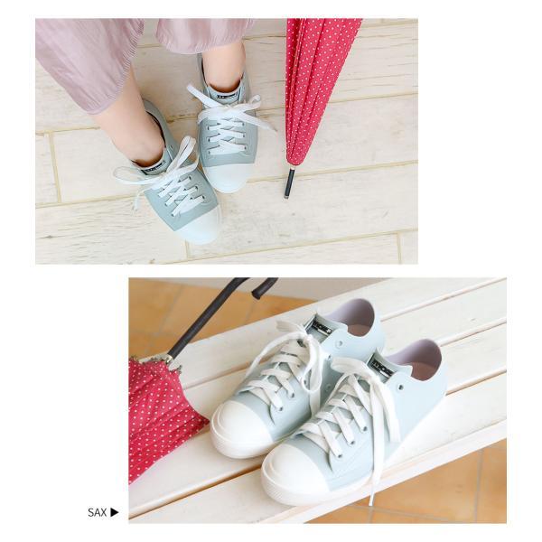 moz レインシューズ スニーカー レディース 防水 ローカット おしゃれ 蒸れにくい 履きやすい 歩きやすい 疲れにくい 通気性 雨靴 女性 シンプル ブランド 8416|s-martceleble|13