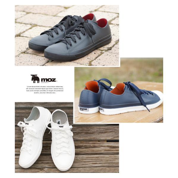 moz レインシューズ スニーカー レディース 防水 ローカット おしゃれ 蒸れにくい 履きやすい 歩きやすい 疲れにくい 通気性 雨靴 女性 シンプル ブランド 8416|s-martceleble|04
