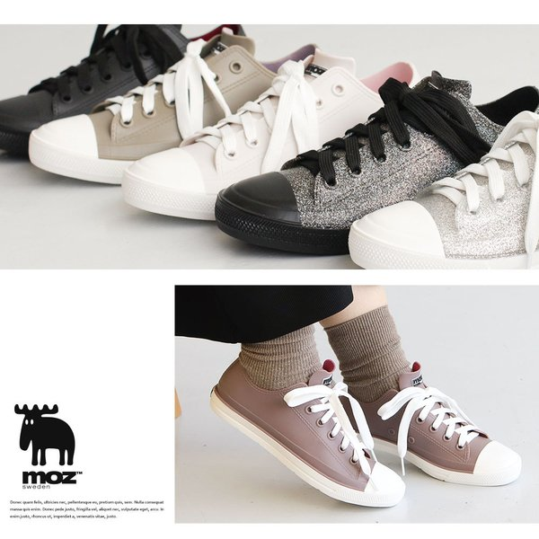 moz レインシューズ スニーカー レディース 防水 ローカット おしゃれ 蒸れにくい 履きやすい 歩きやすい 疲れにくい 通気性 雨靴 女性 シンプル ブランド 8416|s-martceleble|10