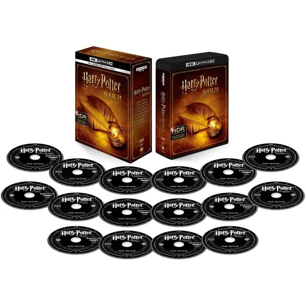 ハリー・ポッター フィルムコレクション Blu-ray & 4K ULTRA HD 16枚組