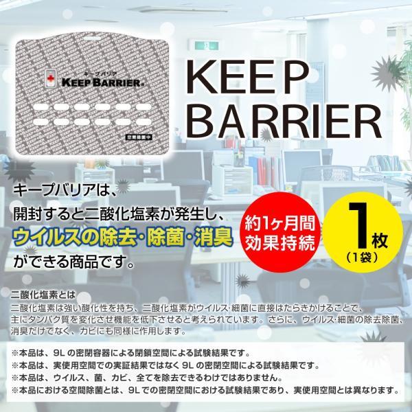 空間除菌 キープバリア ウイルス除去 首かけ マスク 日本製 特許取得 ブロック 除菌 抗ウイルス 花粉 予防 対策 グッズ エアー 携帯 ガード(ストラップ無) s-pln 03