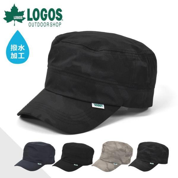キャップ帽子メンズおしゃれ/LOGOSロゴス/撥水加工ワークキャップ