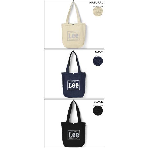 トートバッグ トートバック レディース/Lee リー/キャンバス ロゴ ミニ