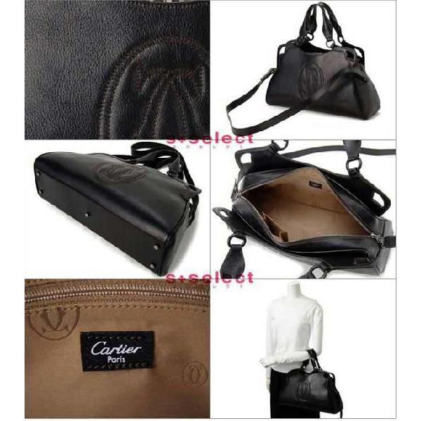 カルティエ Cartier ハンドバッグ L1000889 マルチェロ ドゥ カルティエワールドワイド 2WAYショルダーバック ブランド|s-select|03