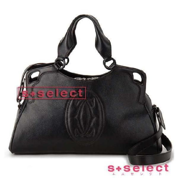 カルティエ Cartier ハンドバッグ L1000889 マルチェロ ドゥ カルティエワールドワイド 2WAYショルダーバック ブランド|s-select|04