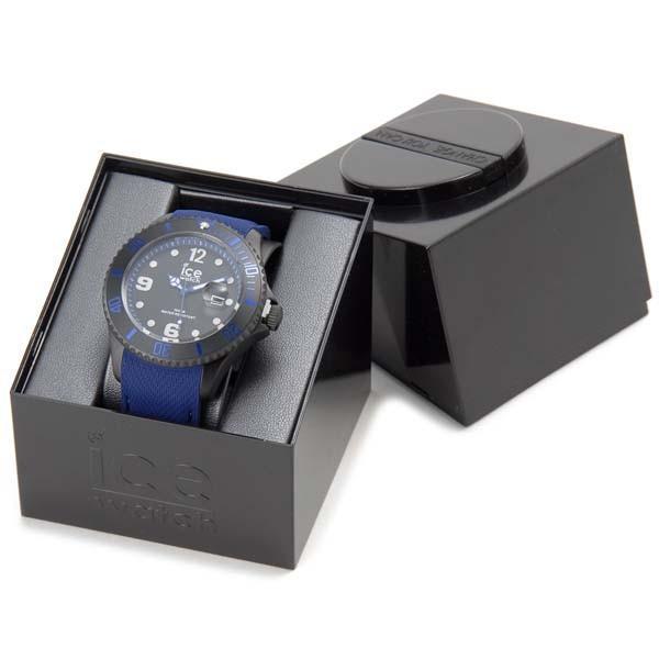 アイスウォッチ ICE WATCH アイス スティール ラージ 48mm ブルー 青 015783 メンズ 腕時計|s-select|04