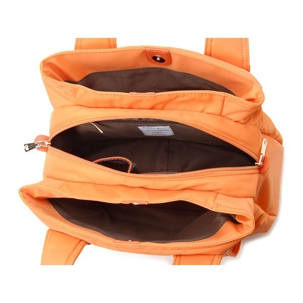 SALE Jolie Joli ジョリージョリ トートバッグ 2017201-030 ナイロントート レディースバッグ オレンジ レディースバッグ