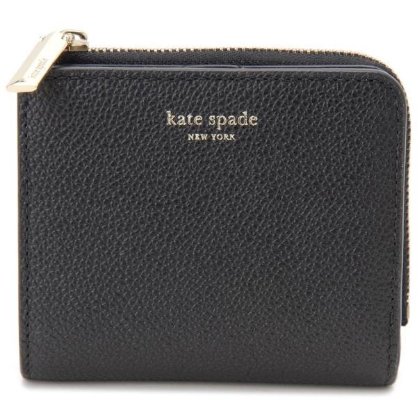 ケイトスペード Kate spade 二つ折り財布 PWRU7160 001 WELLESLEY CARA BLACK ブラック レディース 財布 新品 【送料無料】|s-select