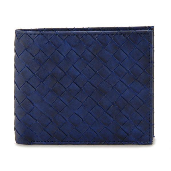 モンテスピガ 二つ折り財布 monte SPIGA MOSQS371NV ネイビー メンズ 財布 ブランド|s-select