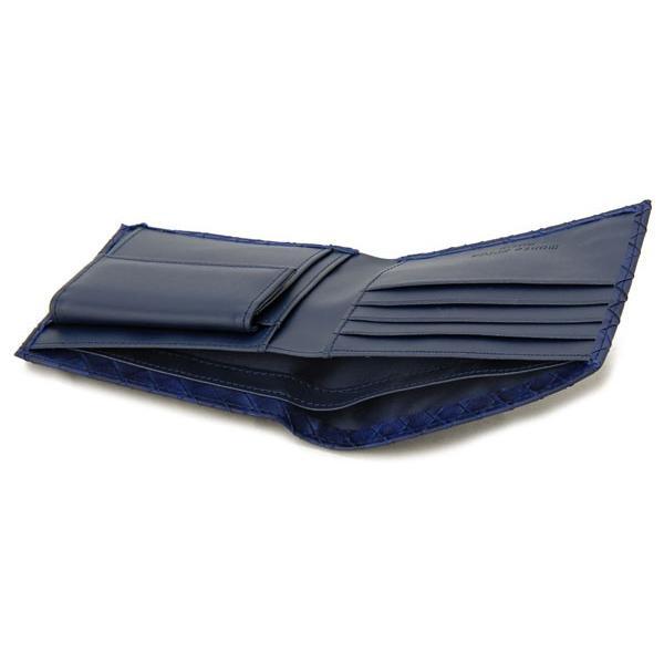 モンテスピガ 二つ折り財布 monte SPIGA MOSQS371NV ネイビー メンズ 財布 ブランド|s-select|04