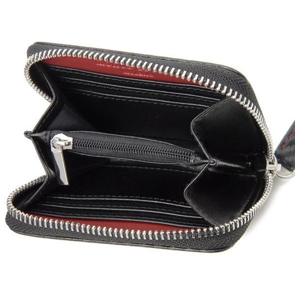 monte SPIGA モンテスピガ コインケース 小銭入れ MOSQS372EBKRD カーボン調 ブラック×レッド メンズ|s-select|03
