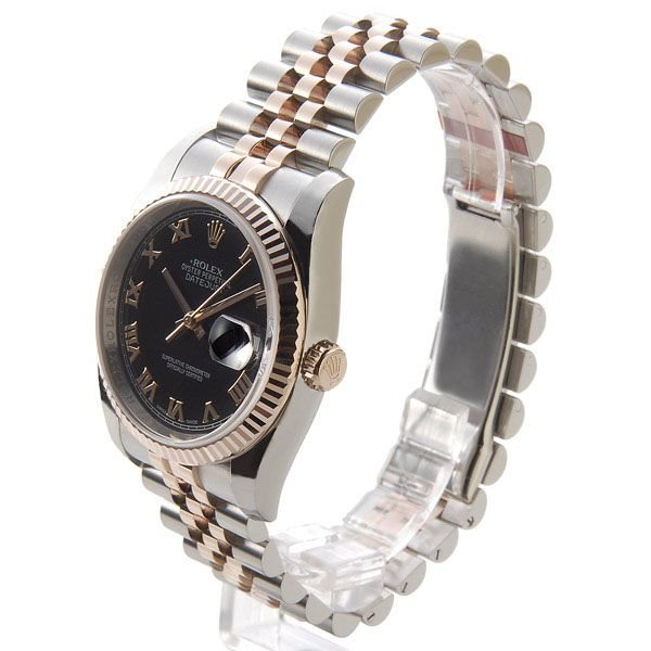 wholesale dealer 8164e 1a0a0 ロレックス ROLEX 116231 BK-R デイジャスト ローマ ブラック ...