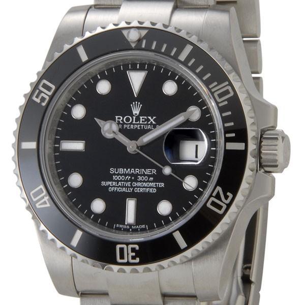 ロレックス ROLEX サブマリーナ デイト 116610LN ブラック メンズ 腕時計 新品 Submariner Date|s-select