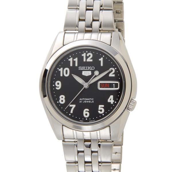 セイコー5 セイコーファイブ メンズ 腕時計 SNK381K1 ブラック SEIKO セイコー 自動巻き 時計 ウォッチ
