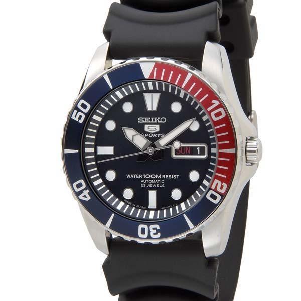 SEIKO セイコー ファイブ スポーツ SEIKO5 メンズ 腕時計 SNZF15J2 自動巻き ブラック 黒 新品 【送料無料】|s-select