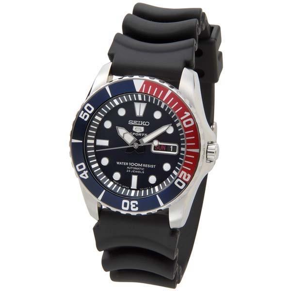 SEIKO セイコー ファイブ スポーツ SEIKO5 メンズ 腕時計 SNZF15J2 自動巻き ブラック 黒 新品 【送料無料】|s-select|02