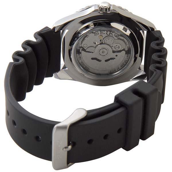 SEIKO セイコー ファイブ スポーツ SEIKO5 メンズ 腕時計 SNZF15J2 自動巻き ブラック 黒 新品 【送料無料】|s-select|03