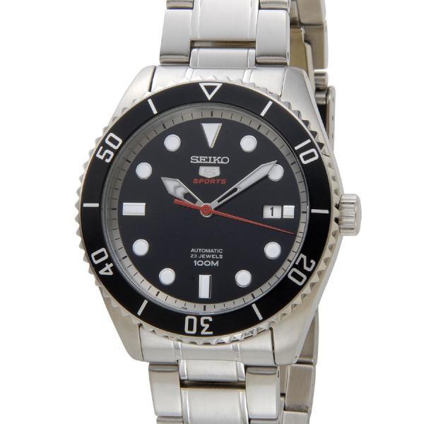 セイコー SEIKO SRPB91K1 SEIKO5 セイコー5 ファイブ スポーツ ブラック メンズ 腕時計 新品 【送料無料】 s-select