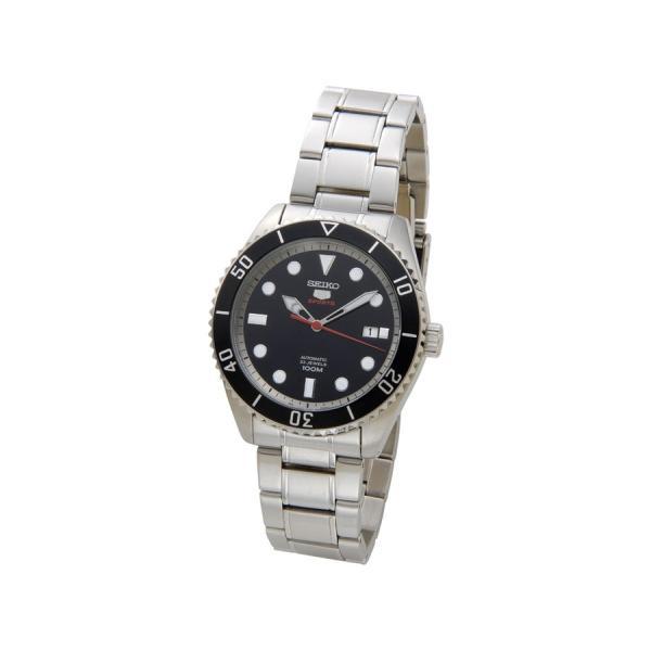 セイコー SEIKO SRPB91K1 SEIKO5 セイコー5 ファイブ スポーツ ブラック メンズ 腕時計 新品 【送料無料】 s-select 02
