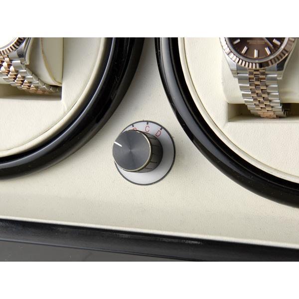 Royal hausen ロイヤルハウゼン ワインダー 時計収納ケース付きワインダー4本巻5本収納 SR074 BK ワインディングマシーン 腕時計/自動巻き機 2年保証|s-select|06