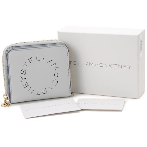 ステラ マッカートニー STELLA McCARTNEY 二つ折り財布 570269W9923 1628 ライトグレー レディース 財布 新品 【送料無料】|s-select|05