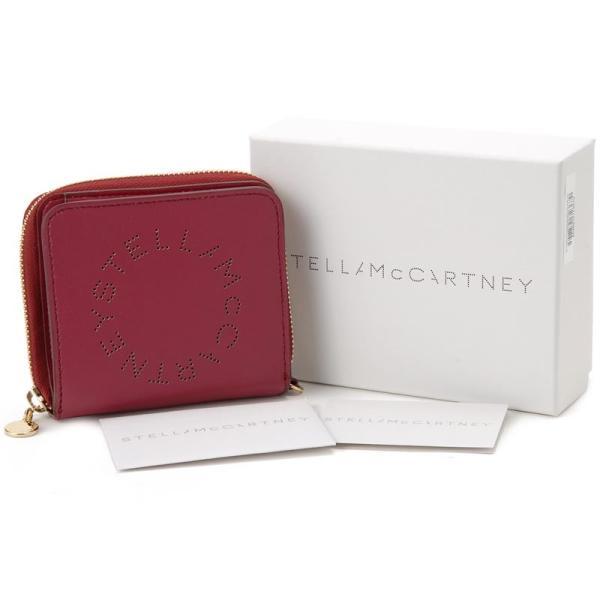 ステラ マッカートニー STELLA McCARTNEY 二つ折り財布 570269W9923 5620 レッド レディース 財布 新品 【送料無料】|s-select|04
