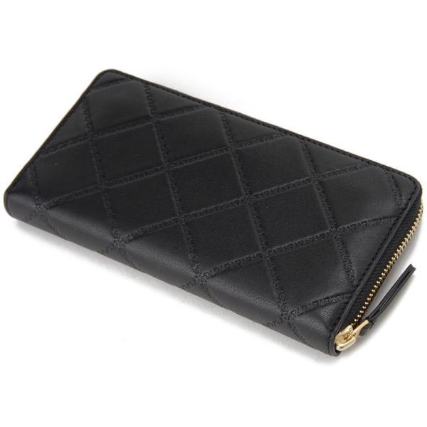 TORY BURCH トリーバーチ ラウンドファスナー長財布 39962-001 ブラック レディース 財布 新品|s-select|02