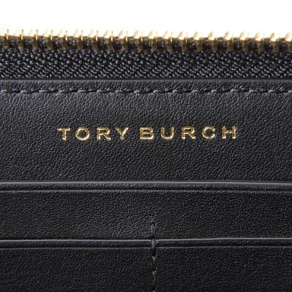 TORY BURCH トリーバーチ ラウンドファスナー長財布 39962-001 ブラック レディース 財布 新品|s-select|04