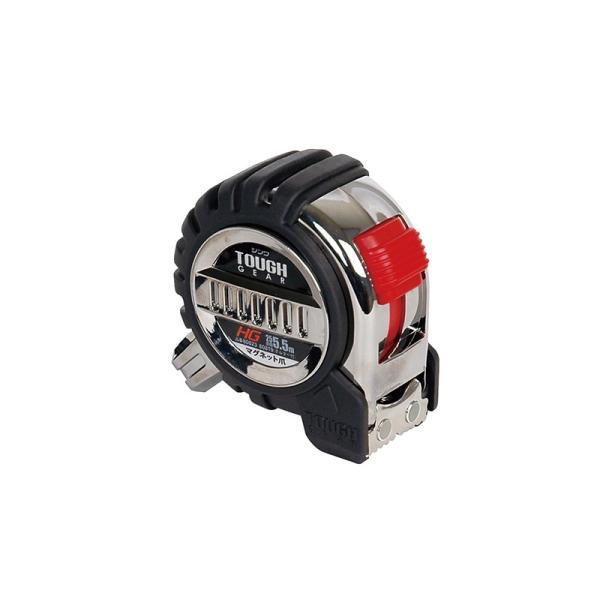 シンワ測定 コンベックス タフギア HG25-5.5M マグネット爪付きJIS 80823