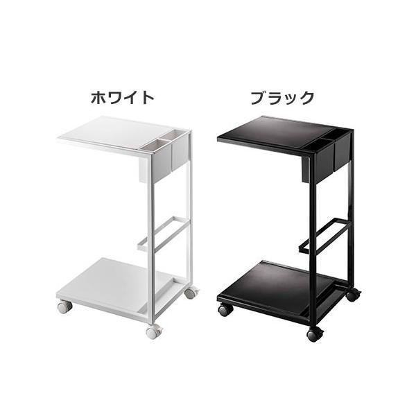 サイドテーブル キャスター付き タワー ワゴン|s-zakka-show|02