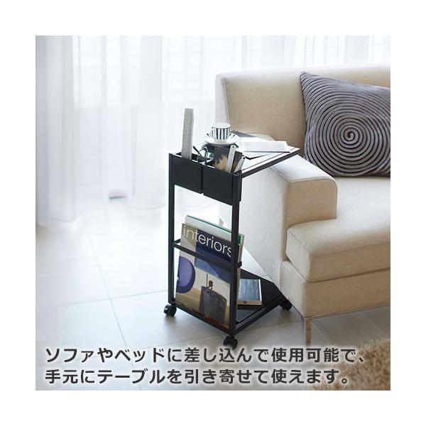 サイドテーブル キャスター付き タワー ワゴン|s-zakka-show|04