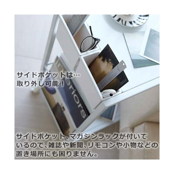 サイドテーブル キャスター付き タワー ワゴン|s-zakka-show|05