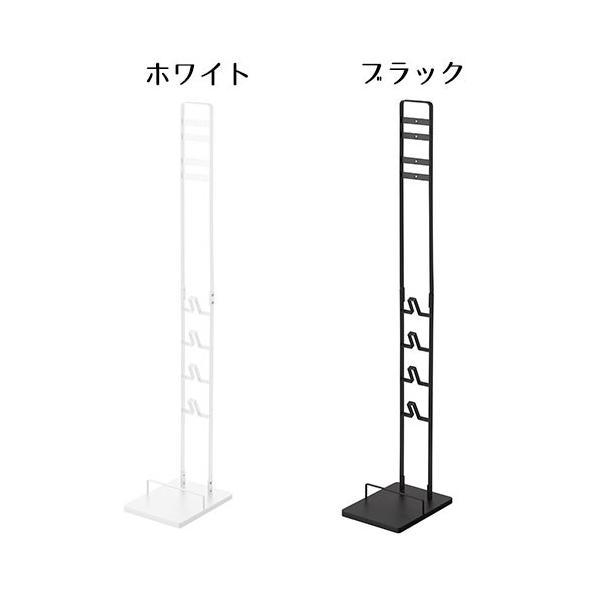 クリーナースタンド 掃除機スタンド ダイソン 収納 充電可能 スリム スタンド ラック dyson v6 v7 v8 v10 スティック型 山崎実業 tower|s-zakka-show|09
