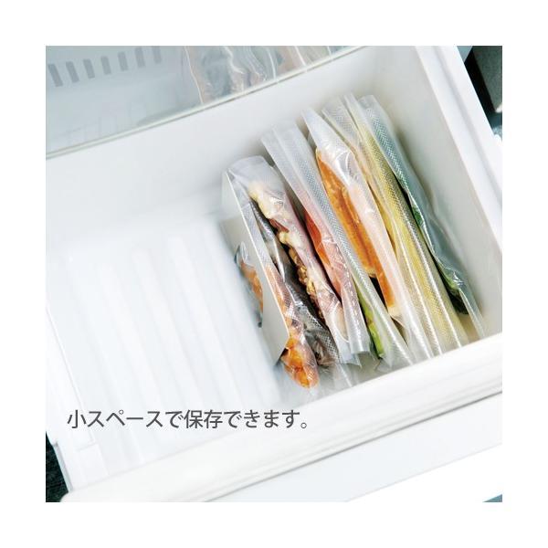 真空パック 袋 真空ポンプ&保存袋スターターセット|s-zakka-show|05