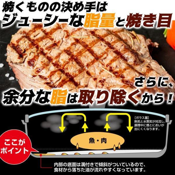 魚焼き器 フライパン 切身魚にちょうど良い魚焼きパン IH200V対応 s-zakka-show 02