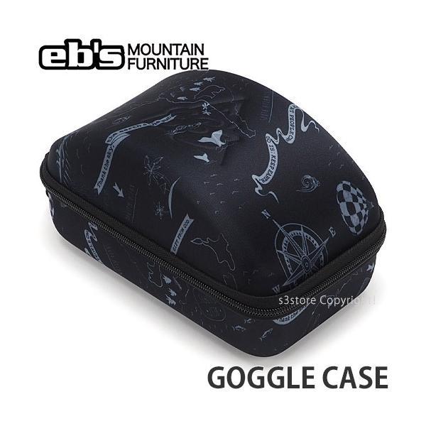 エビス ゴーグルケース ebs GOGGLE CASE スノーボード スノボ スキー シングル ポーチ 収納 保管 持ち運び SNOWBOARD カラー:MAPPING