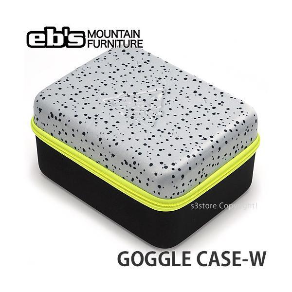 エビス ゴーグルケースW ebs GOGGLE CASE-W スノーボード スノボ スキー ポーチ 収納 保管 持ち運び SNOWBOARD カラー:SPINKLE