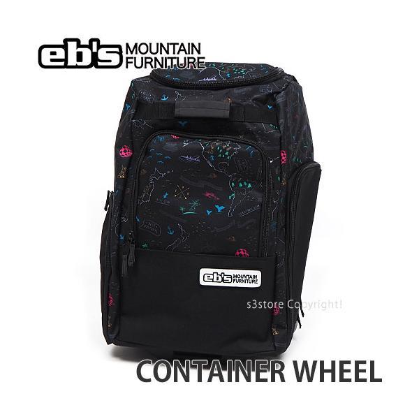 エビス コンテナ ウィール ebs CONTAINER WHEEL スノボ ボード キャリー バッグ 持ち運び 旅行 BAG SNOW カラー:DELA MAP サイズ:60L