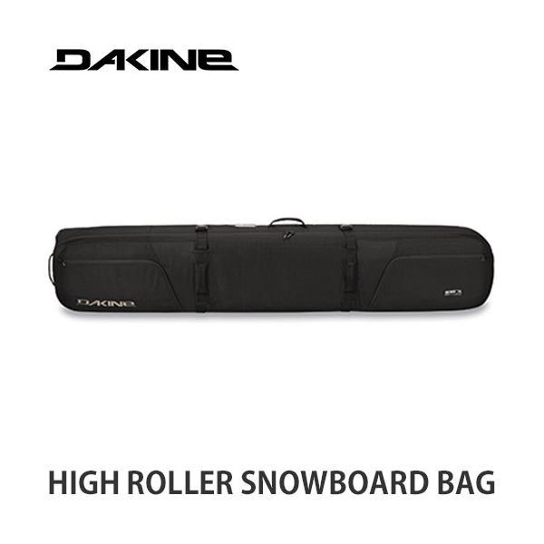 21-22 ダカイン スノーボード バッグ DAKINE HIGH ROLLER BAG スノーボード スノボ キャリーバッグ ケース 2022 カラー:Blk サイズ:175cm