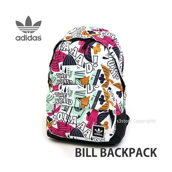 アディダス ビル バックパック adidas BILL BACKPACK スケートボード スケボー バッグ リュック コーデ カラー:マルチカラー サイズ:NS