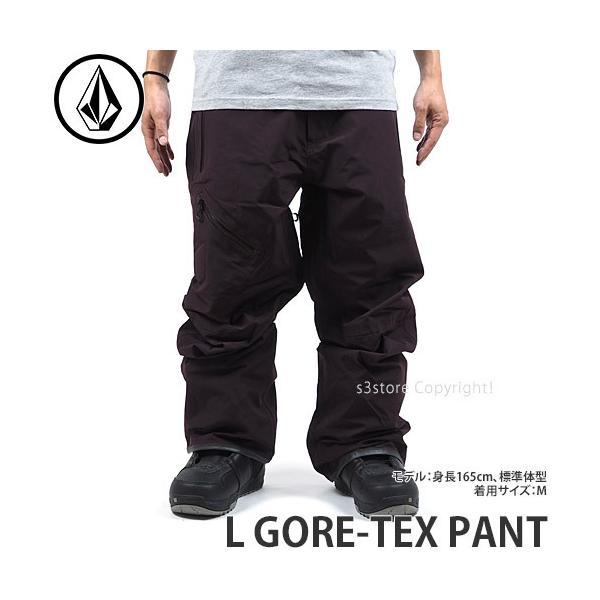 21model ボルコム L ゴアテックス パンツ VOLCOM L GORE-TEX PANT ウェア ボトムス エルゴア スノー スノボー メンズ Col:BLACK RED