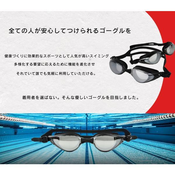S4R 水泳 ゴーグル スイミングゴーグル ミラー ゴーグルケース セット メンズ レディース 男女兼用 大人 水泳ゴーグル ミラーゴーグル 送料無料 全2色 sw-u-2|s4r|02