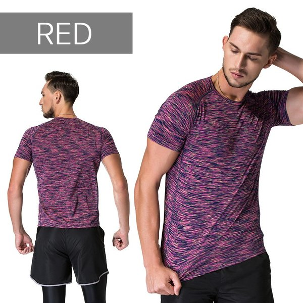 ランニングウェア メンズ 半袖 Tシャツ 秋冬 吸水 速乾 ヨガやジムなど お しゃれなシンプルデザイン|s4r|05