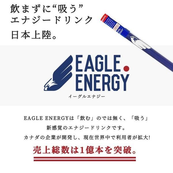 EAGLE ENERGY イーグルエナジー 吸う エナジードリンクフレーバー  エナジードリンク 糖質ゼロ カロリーゼロ ニコチンゼロ 【正規品】 (3本入り)|sabb|02