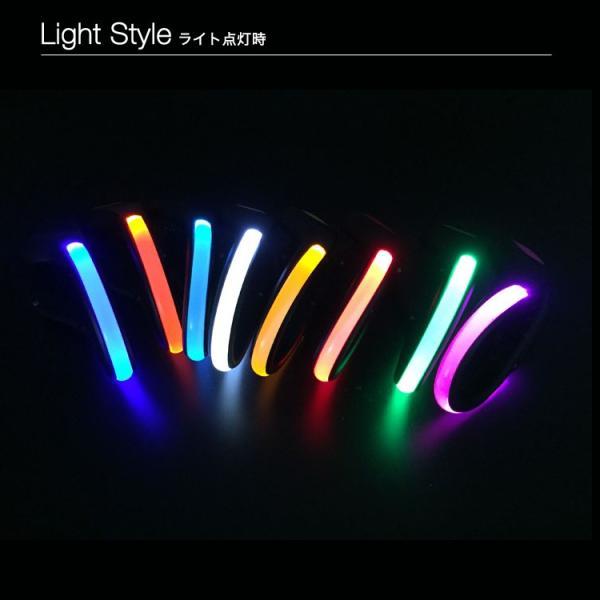 (メール便送料無料) LED ライト シュークリッパー LED 光る スニーカー シューズ セーフティーライト ランニング リフレクター 事故防止 夜間 ジョギング
