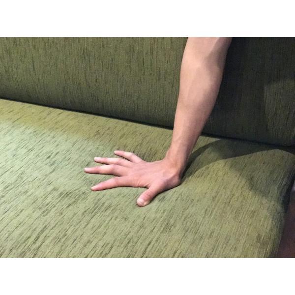 BM Sofa 1人掛けソファ 選べる背もたれシリコン綿タイプ ローソファー ナラ無垢材|sabisabi-web|07