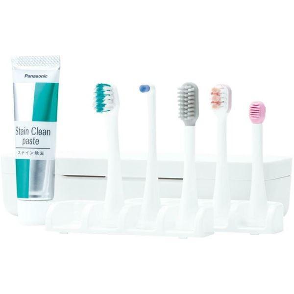音波振動歯ブラシ/電動歯ブラシ ドルツ 〔シルバー〕 充電式 EW-DP51-S 『Panasonic パナソニック』 歯ブラシ|sac|02