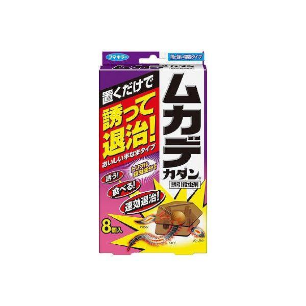 (まとめ)フマキラー ムカデカダン誘引殺虫剤8個入 〔×6点セット〕|sac