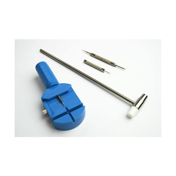 時計工具セット 4点 ベルト調整 時計修理工具 腕時計 時計 メンズ レディース 時計工具 ベルト交換 プロ 工具 腕時計用品 取扱説明書付き ピン抜き 腕時計工具|sac